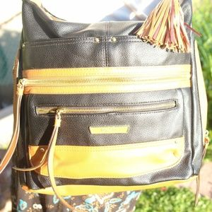 Rosetti Handbag - Black & Brown